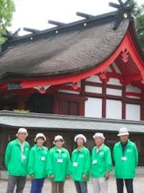 宗像歴史観光ボランティアの会 ガイドスタッフ